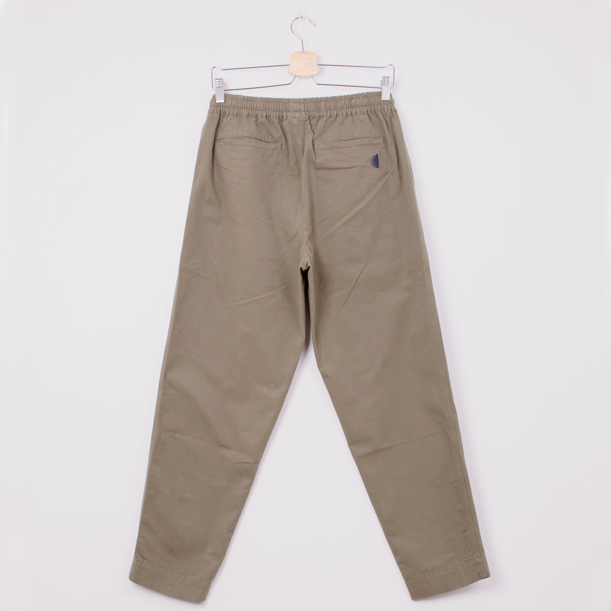 FOLK DRAWCORD ASSEMBLEY PANTS - OLIVE