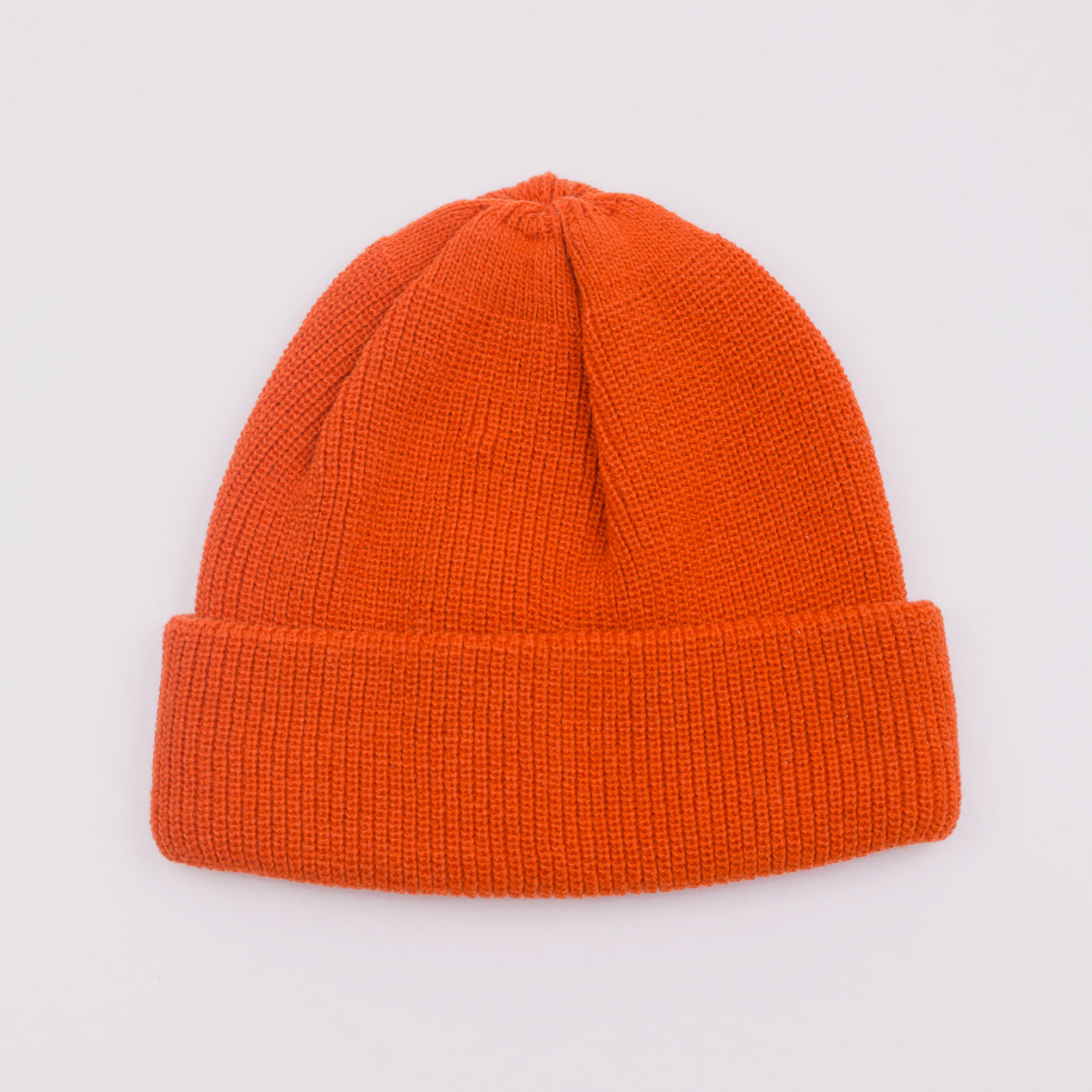 ROTOTO BULKY WATCH CAP - ORANGE