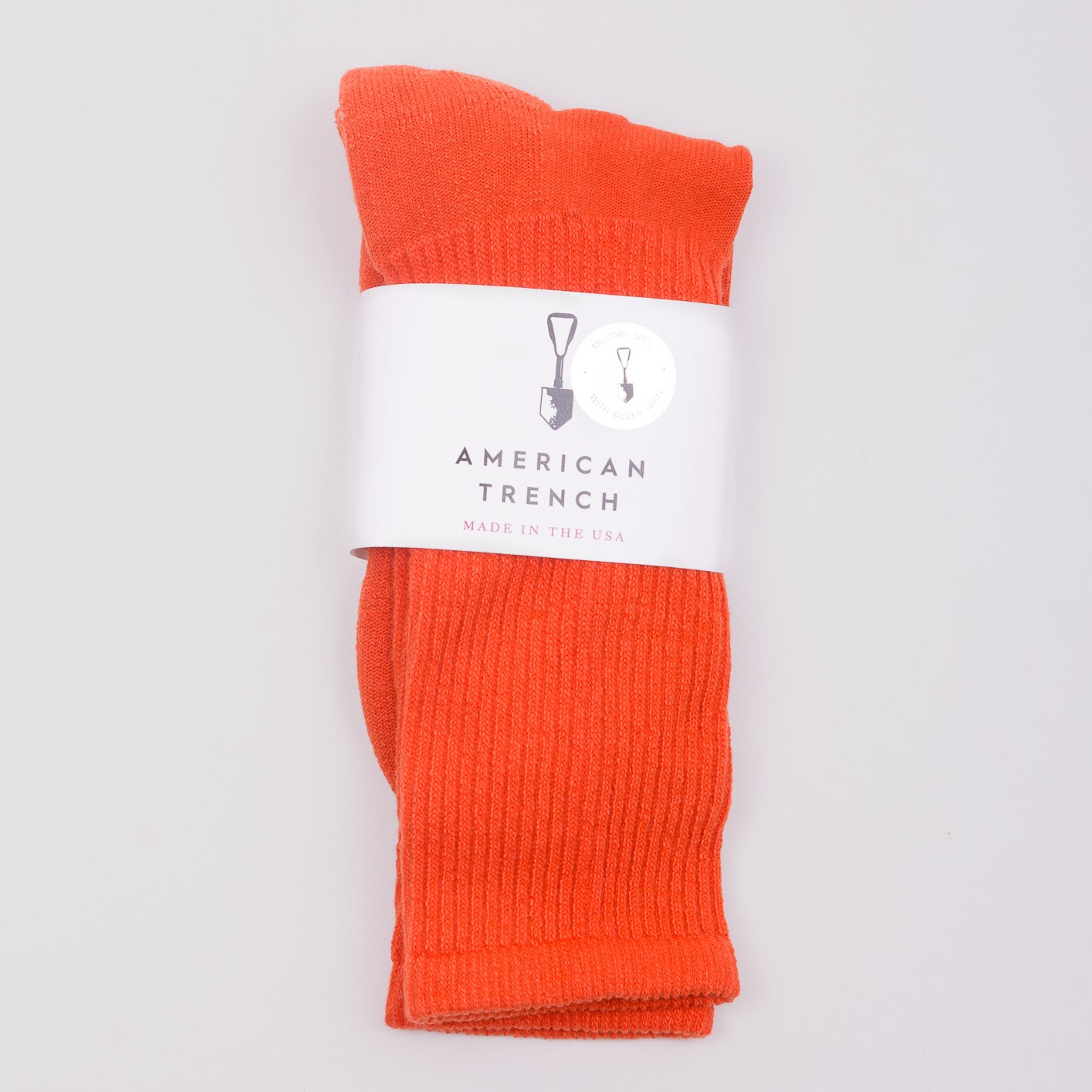 AMERICAN TRENCH MIL-SPEC SPORT SOCK - ORANGE