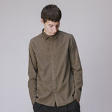 FOLK BABYCORD SHIRT - SOFT GREEN