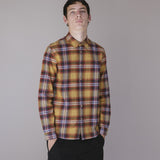 FOLK STORM SHIRT - AUTUMNAL CHECK