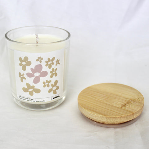 Juno Lemongrass & Ginger Candle