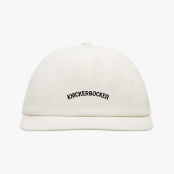 Knickerbocker Core Logo Ball Cap Natural