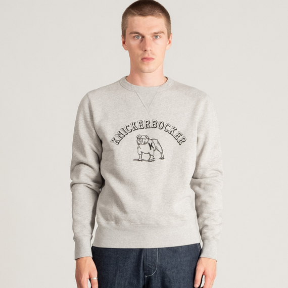 Knickerbocker The Bulldog Crew Heather Grey