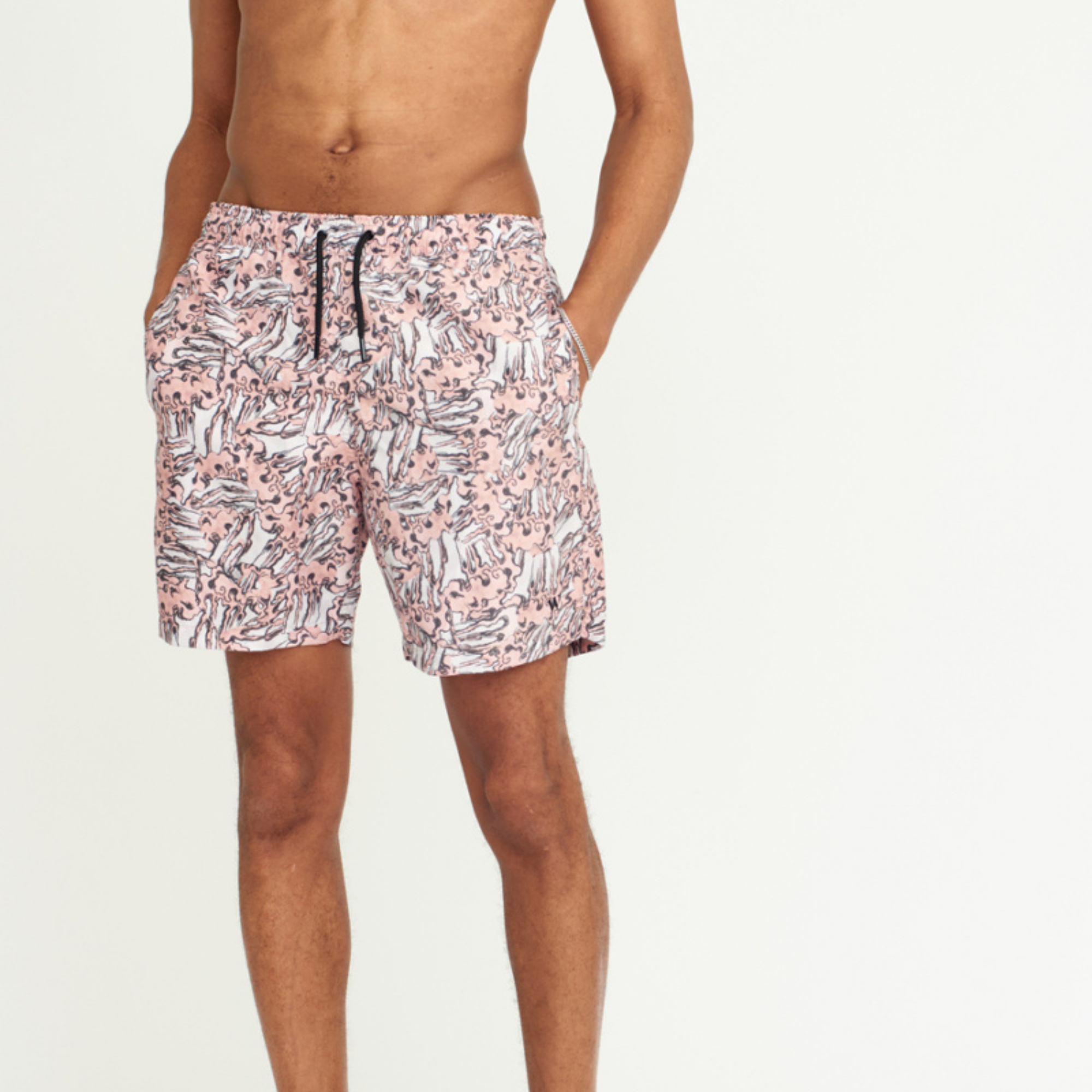 Wax Noden Swimshorts Wave Print
