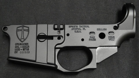 SPIKES TACTICAL CRUSADER LOWER RECEIVER