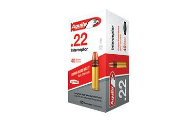 Aguila 22lr 40 Grain Weight Inter Sp 5000 Rd Cs