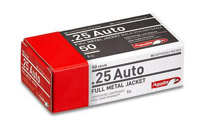 Aguila 25acp 50 Grain Weight Fmj 50-1000