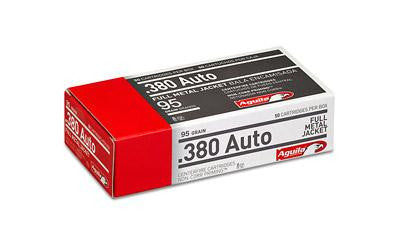 Aguila 380acp 95 Grain Weight Fmj 50-1000