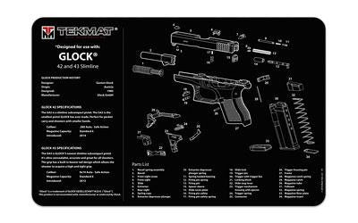 Tekmat Pistol Mat For Glk 42-43 Black