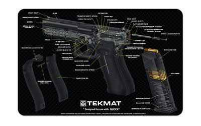 Tekmat Cutaway Pstl Mat For Glk Black