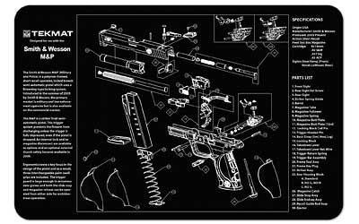 Tekmat Pistol Mat S&w M&p Black