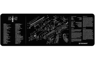 Tekmat Rifle Mat Ak47 Black