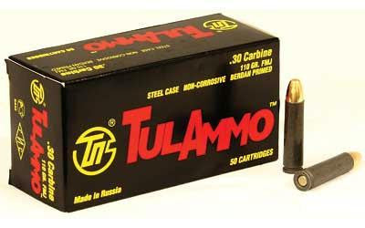Tula 30carb 110 Grain Weight Fmj Nc 50-1000
