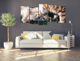 Your Own Pet Animal Photo/Image Printed Onto A Multi Panel Canvas Print wall Art - MPC13 - Art Fever