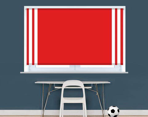 Manchester Red Football Colours Image Printed Picture Photo Roller Blind - RB945
