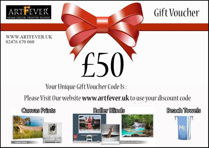£50 Gift Voucher - Art Fever - Art Fever