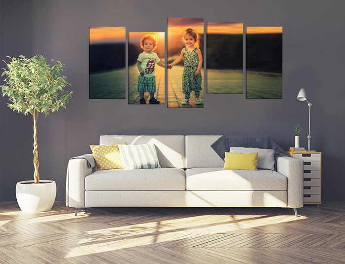 Your Own Favorite Photo/Image Printed Onto A Multi Panel Canvas Wall Art - MPC85 - Art Fever