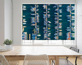 Aerial Shot of the Harbour and Boats Photo Printed Picture Photo Roller Blind - RB559 - Art Fever