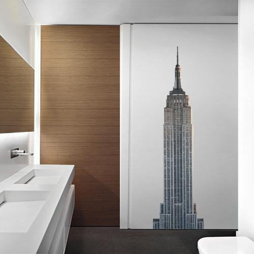 ATWS33 - THE EMPIRE STATE BUILDING PHOTO WALL STICKER - Art Fever - Art Fever