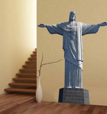 ATWS35 - CHRIST THE REDEEMER STATUE IN RIO LARGE PHOTO WALL STICKER - Art Fever - Art Fever
