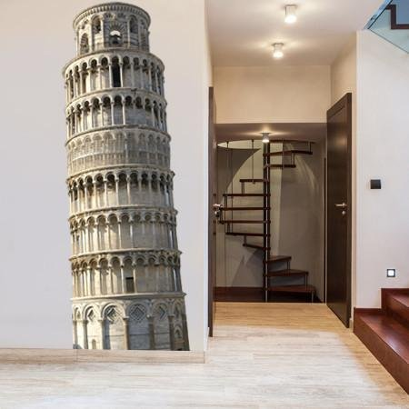 ATWS37 - LEANING TOWER OF PISA PHOTO WALL STICKER - Art Fever - Art Fever