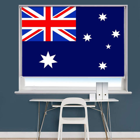 Australian Flag Printed Picture Roller Blind - RB754 - Art Fever - Art Fever