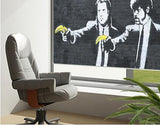 Banksy Pulp Fiction Printed Graffiti Picture Photo Roller Blind - RB127 - Art Fever - Art Fever
