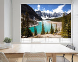 Beautiful Moraine Lake In Banff National Park, Printed Picture Photo Roller Blind - RB692 - Art Fever - Art Fever