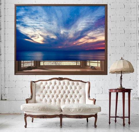 Beautiful Sunset Ocean Printed Picture Photo Roller Blind - RB514 - Art Fever - Art Fever