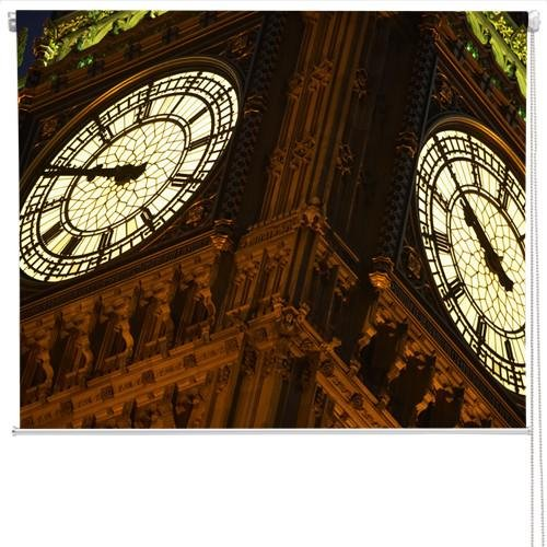 Big Ben clock close up Printed Picture Photo Roller Blind - RB272 - Art Fever - Art Fever