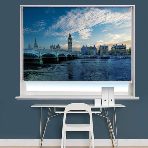 Big Ben London Scene Image Printed Roller Blind - RB820 - Art Fever - Art Fever
