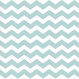 Blue Shapes Chevron Pattern Printed Picture Photo Roller Blind - RB604 - Art Fever - Art Fever