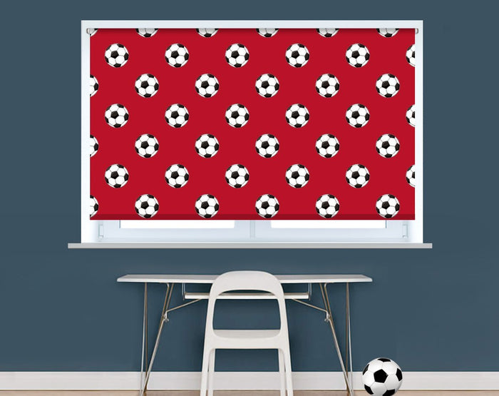 Bournemouth Colours Football Pattern Image Printed Picture Roller Blind - RB926 - Art Fever - Art Fever