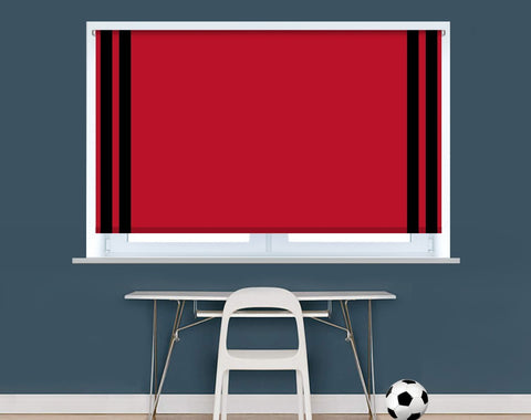 Bournemouth Football Colours Image Printed Picture Roller Blind - RB928 - Art Fever - Art Fever