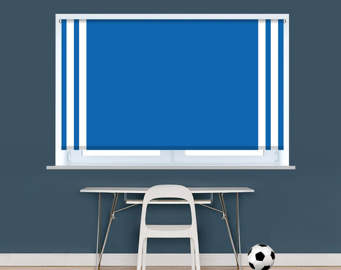 Brighton Football Colours Image Printed Picture Photo Roller Blind - RB9399 - Art Fever - Art Fever