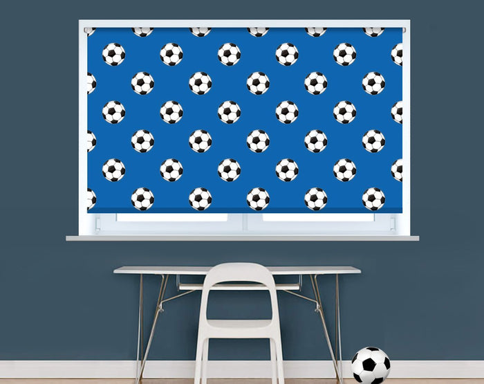 Brighton Football Pattern Image Printed Picture Photo Roller Blind - RB9398 - Art Fever - Art Fever