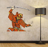 BS46 - Large samurai warrior wall sticker - Art Fever - Art Fever