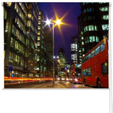 Busy London Street Printed Picture Photo Roller Blind - RB262 - Art Fever - Art Fever
