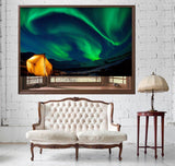 Camping under the Northern Lights Printed Picture Photo Roller Blind - RB511 - Art Fever - Art Fever