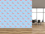 Cartoon Ships Nautical Themed Self Adhesive Wallpaper - WM630 - Art Fever - Art Fever