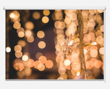 Christmas Lights Background Printed Picture Photo Roller Blind - RB1051 - Art Fever - Art Fever