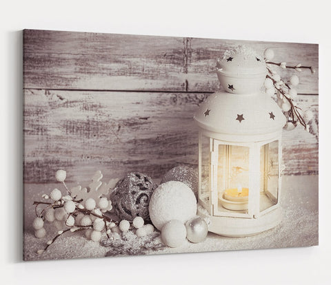 Christmas Scene Printed Canvas Print Picture - SPC194 - Art Fever - Art Fever