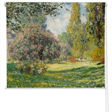Claude Monet The Parc Monceau Art Printed Picture Photo Roller Blind - RB281 - Art Fever - Art Fever