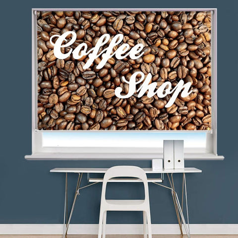 Coffee Shop Image Printed Roller Blind - RB892 - Art Fever - Art Fever