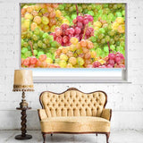 Colourful Grapes Printed Photo Picture Kitchen Roller Blind - RB436 - Art Fever - Art Fever