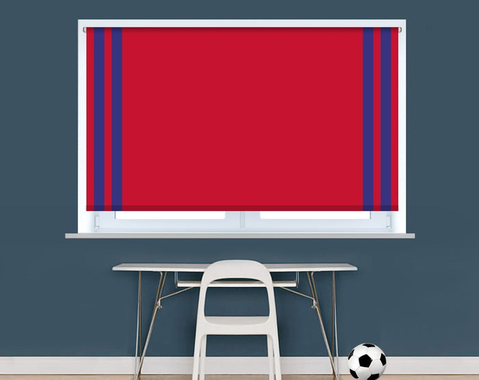 Crystal Palace Football Colours Image Printed Picture Photo Roller Blind - RB9396 - Art Fever - Art Fever