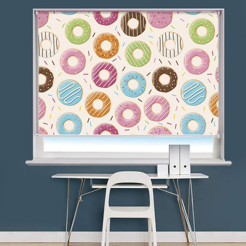 Donut Printed Photo Picture Roller Blind - RB717 - Art Fever - Art Fever