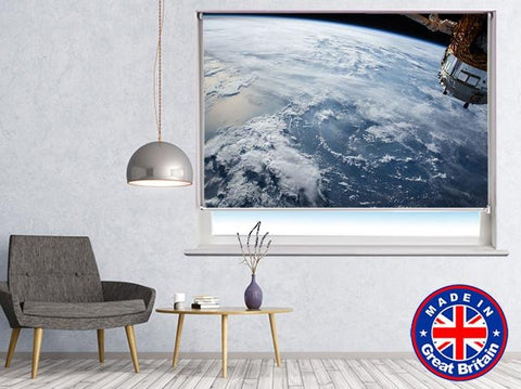 Earth from Space Printed Picture Photo Roller Blind - RB551 - Art Fever - Art Fever
