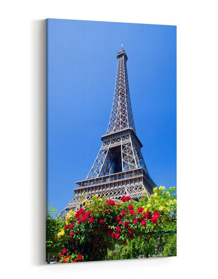 Eiffel Tower Seen From Champ De Mars Paris Canvas Print Picture - SPC269 - Art Fever - Art Fever